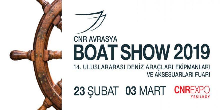 Sektörünün büyükleri CNR Avrasya Boat Show'da