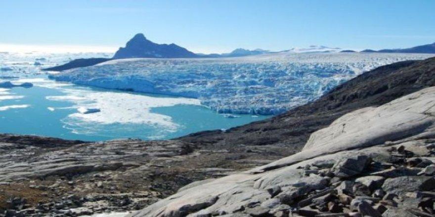 Grönland'da buzullar kışları da erimeye başladı