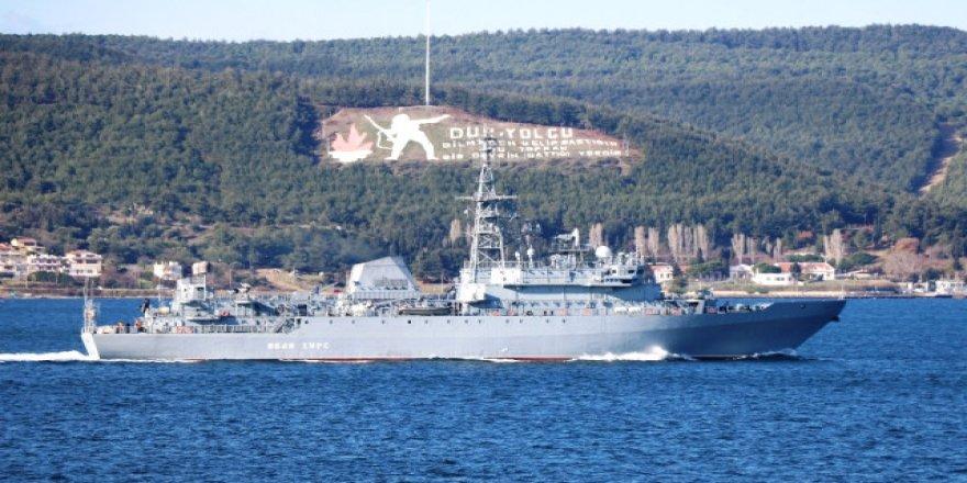 Rus donanma gemileri ülkesine dönüyor
