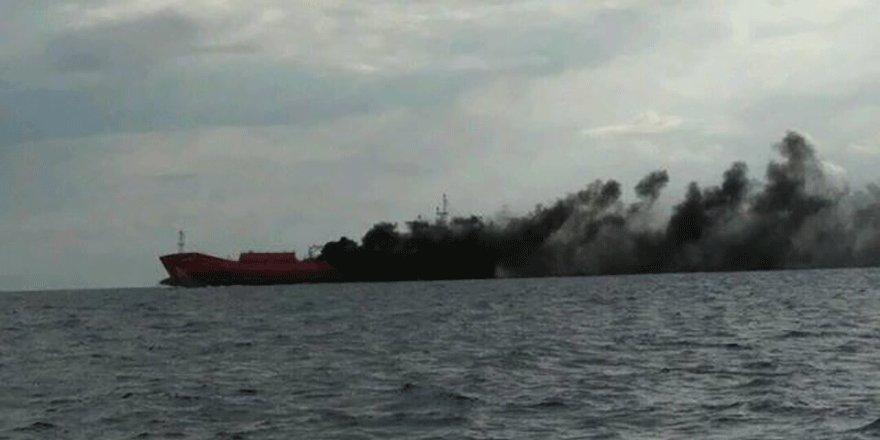 Doğal gaz taşıyan tankerde patlama!