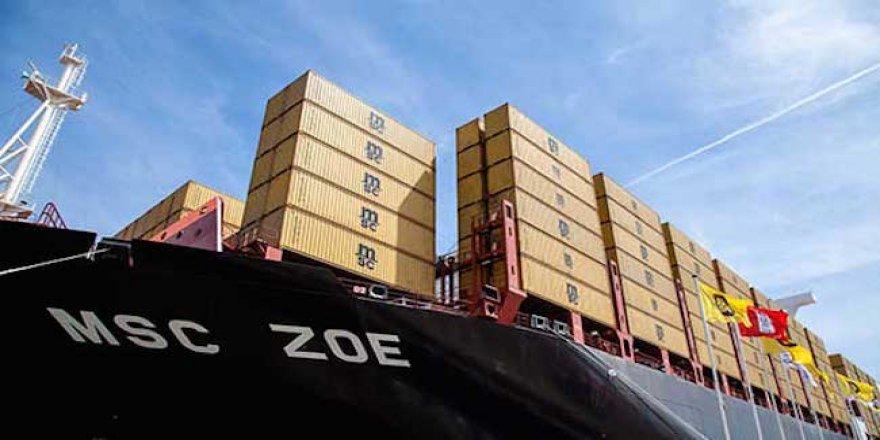 MSC gemisinden 270 konteyner denize düştü