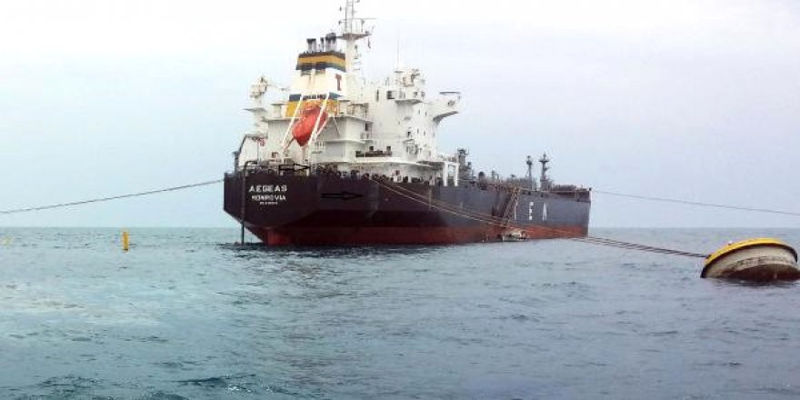 Denizi kirleten 8 gemiye 1.7 milyon lira ceza