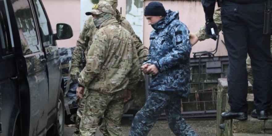 Ukrayna esir denizciler için AİHM'e başvurdu