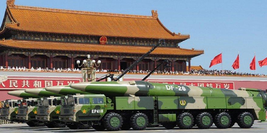 Çin 'gemi katili balistik füzelerini' alarma geçirdi
