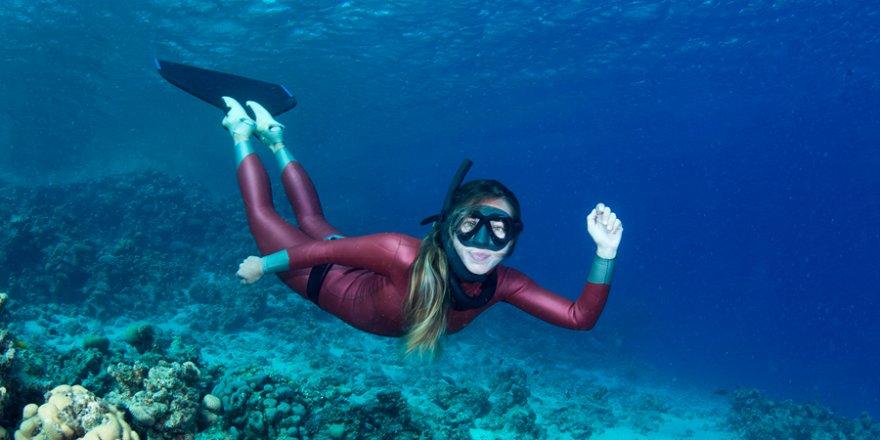 Şahika Ercümen Antarktika'da dalış yapacak!