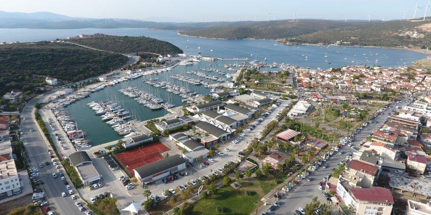 Teos Marina Tuzla veCNR Boat Show için hazır