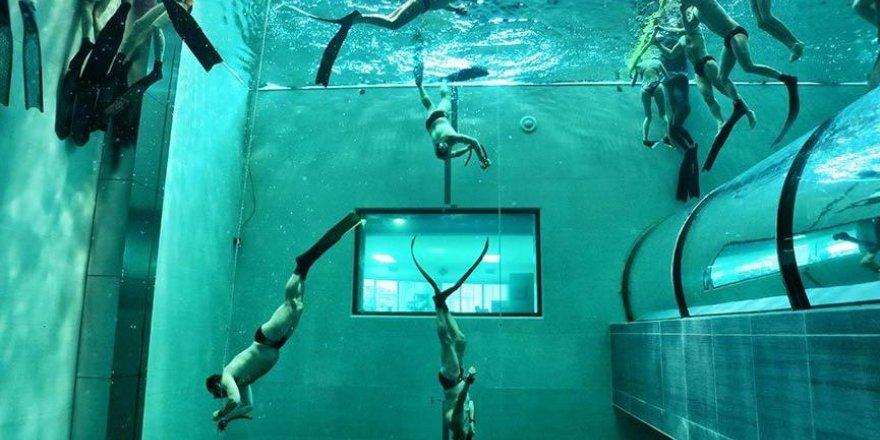Dünyanın en derin havuzu