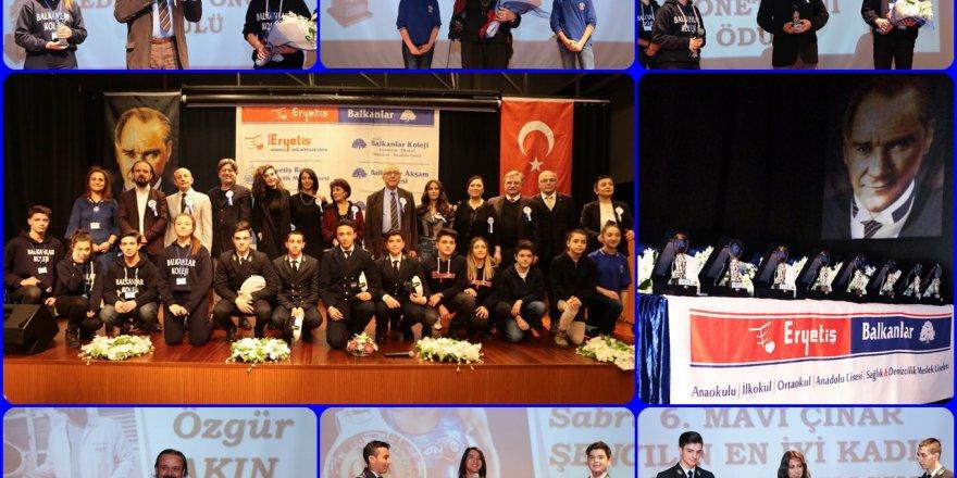 6. Mavi Çınar Ödülleri sahibini buldu