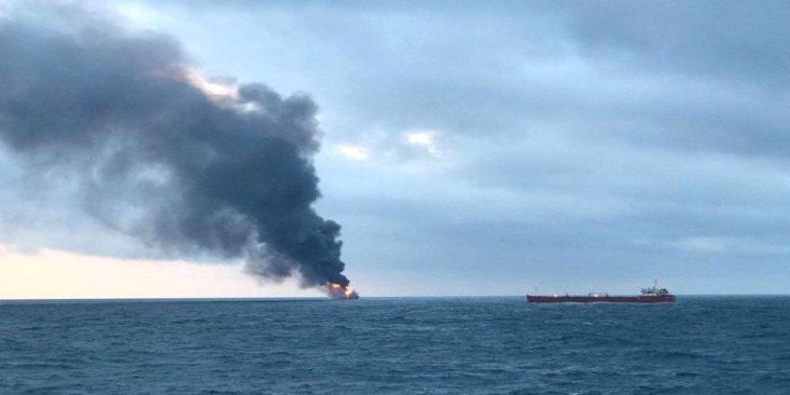 Yanan gemilerde patlama riski
