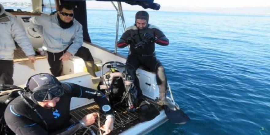 Burhaniye ve Gömeç'te dalış turizmi başlıyor