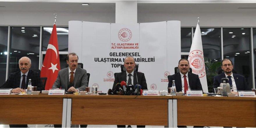 Bakan Turhan 2019 yılı hedeflerini anlattı