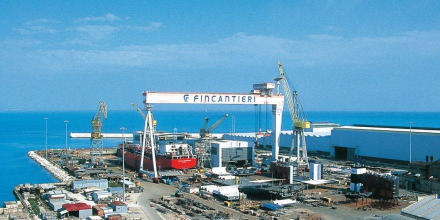 Fincantieri, Sicilya'da tersane kuruyor