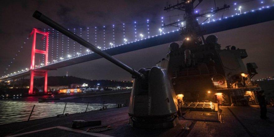 ABD Donanması, Boğazı profil fotoğrafı yaptı