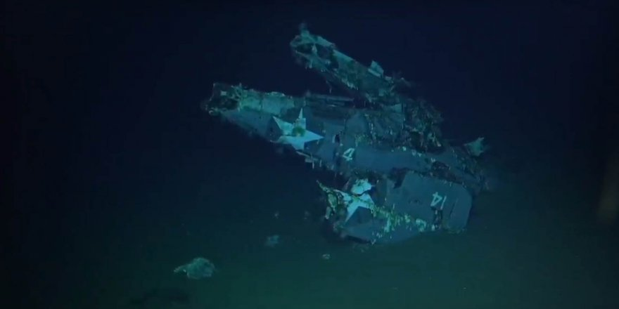 76 yıl önce batan ünlü uçak gemisi bulundu