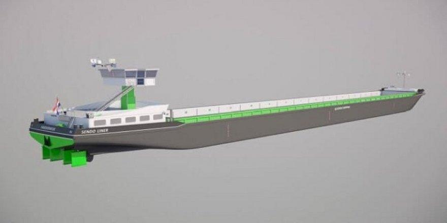 Deniz taşımacılığında yeni bir sayfa açacak gemi