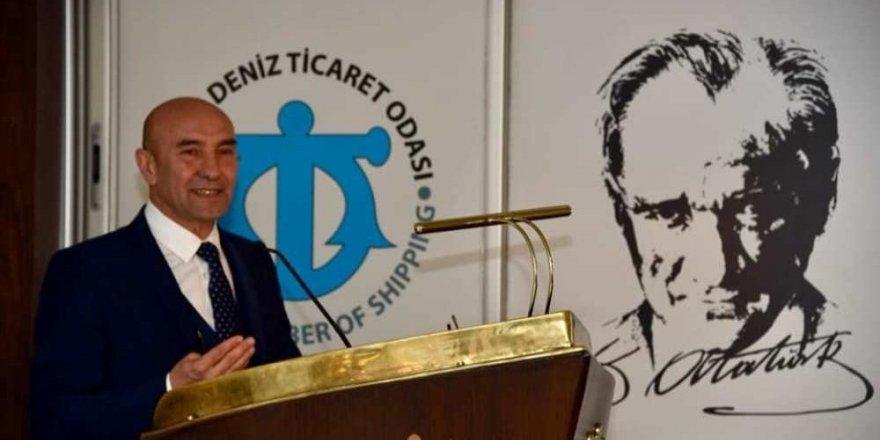 İzmir'i denizsiz, denizi İzmir'siz düşünemeyiz
