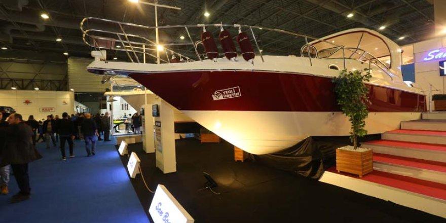 Boat Show'da yerli üretime yoğun ilgi