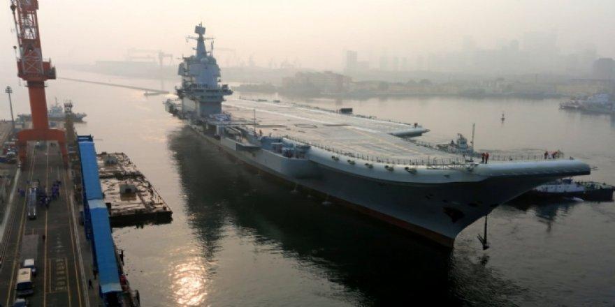 Çin'in 2. uçak gemisi donanmanın envanterinde