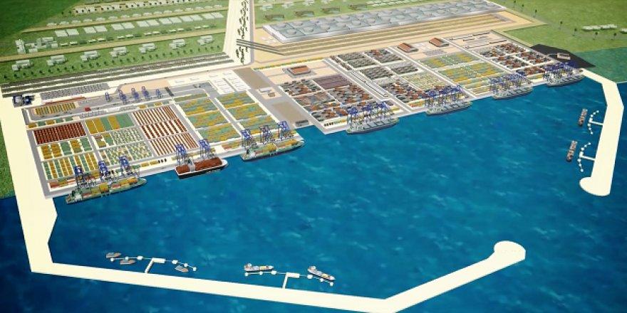 Anaklia Derin Deniz Limanı'nın taşları Türkiye'den