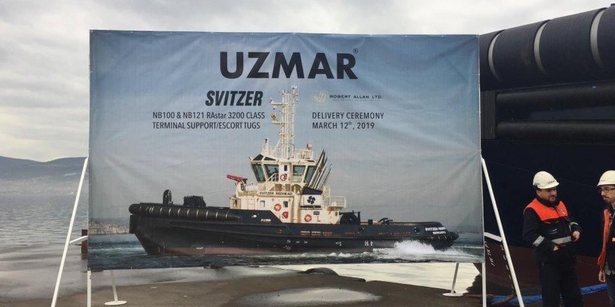 UZMAR'dan iki yeni römorkör teslimi