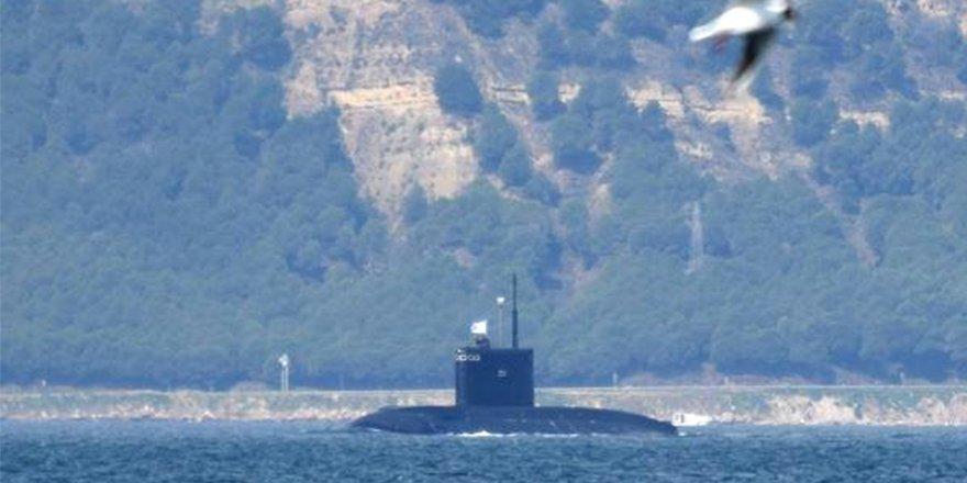 DEAŞ'ı vuran Rus denizaltısı, Akdeniz'e gidiyor