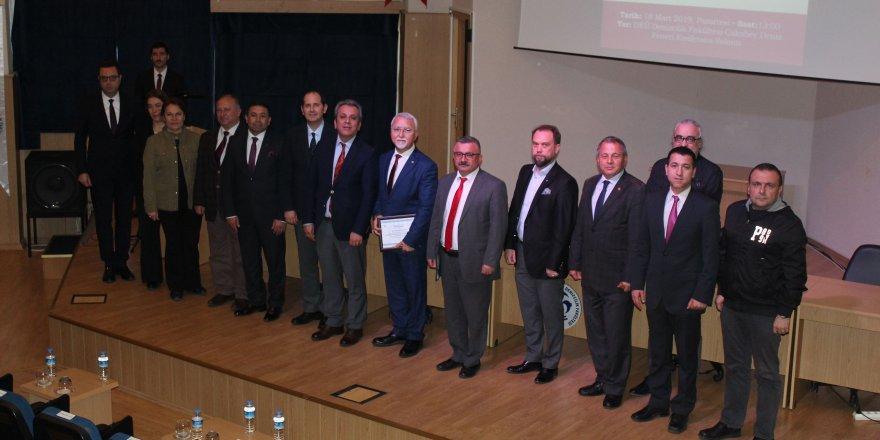 DEÜ 'de Çanakkale Zaferi'nin 104. yılına özel konferans gerçekleştirildi