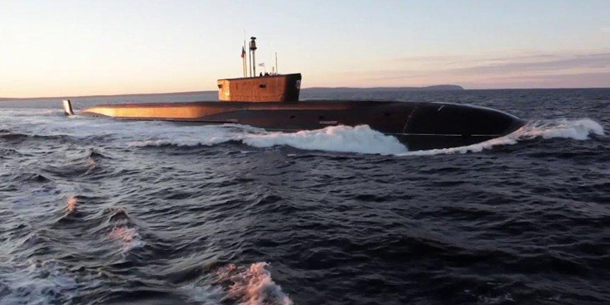 Rusya'nın stratejik füze denizaltısı