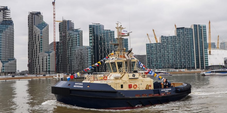 Sanmar'dan Svitzer'e üretilen 21. tekne teslim edildi