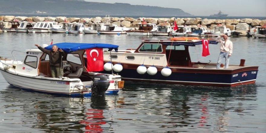 Eceabat'ta kooperatif tekne yarışı düzenledi
