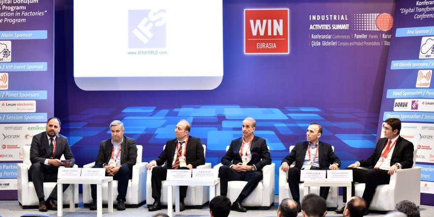 IFS, WIN EURASIA Fuarı'nda ERP çözümlerini tanıttı