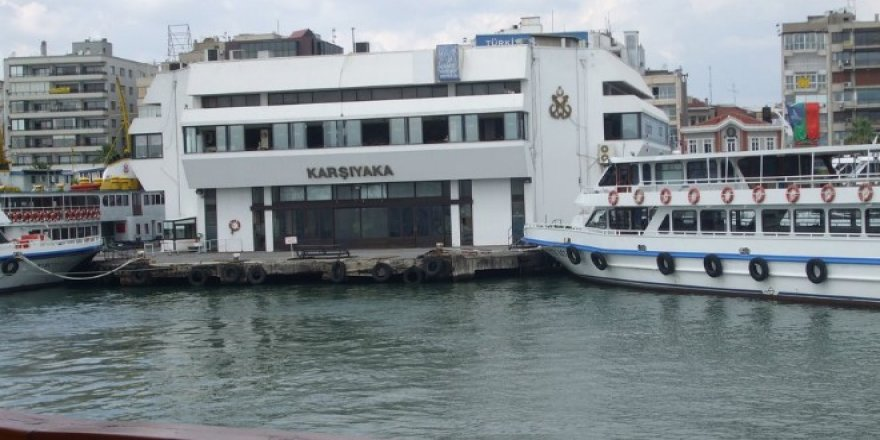 İzmir Karşıyaka İskelesi büyütülüyor!