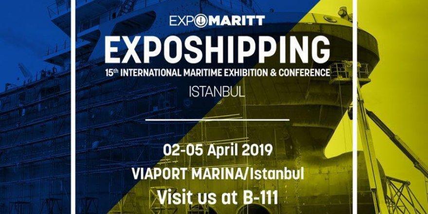 AVS Expomaritt Exposhipping için hazır!