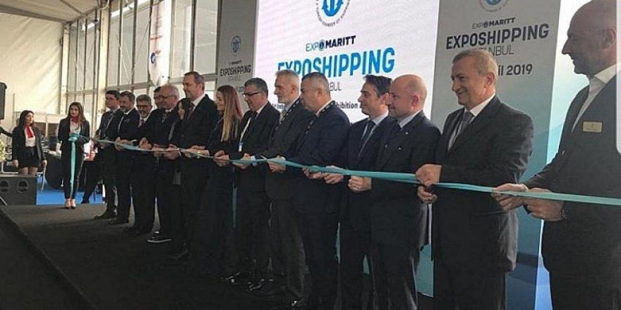15. Exposhipping Expomaritt İstanbul başladı