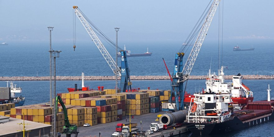Dış ticaretin dinamosu Çelebi Limanı