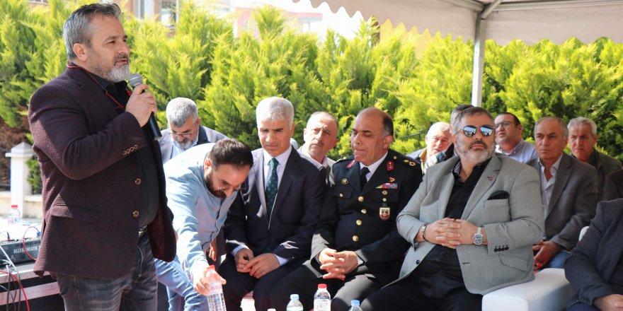 Aliağa'da Hacı Tahir Şimşek Camii'nin temeli atıldı