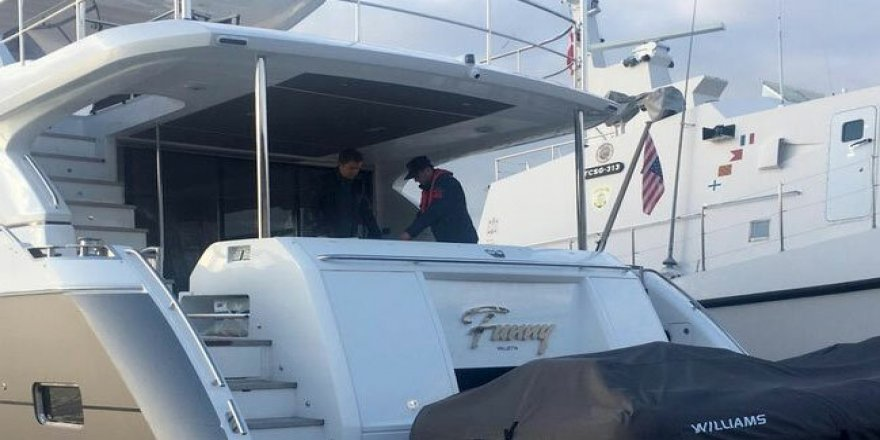 İspanya'da çalındı, Güllük Limanı'nda yakalandı