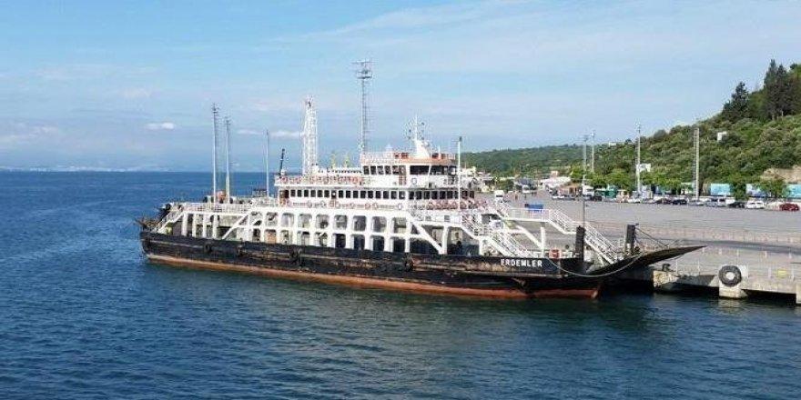 Eskihisar'da icradan satılık feribot