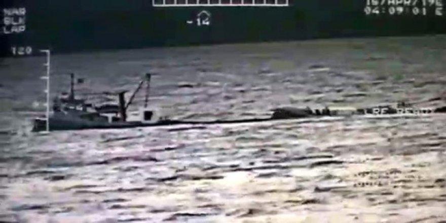 Uluslararası sularda film gibi operasyon