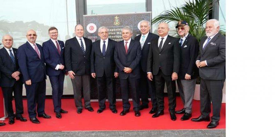 Türk Denizcilik tarihi Monaco'da sergilendi