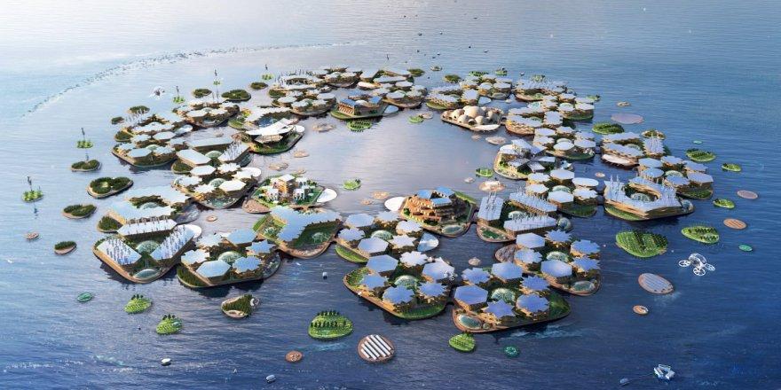 Yeni şehirler okyanuslar üzerinde kurulacak