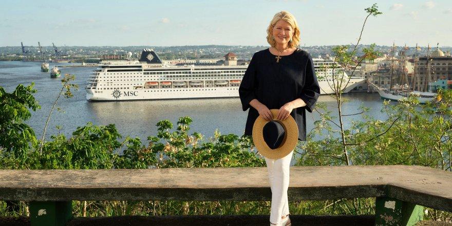 Msc Cruises ve Martha Stewart inanılmaz deneyim yaşatacak