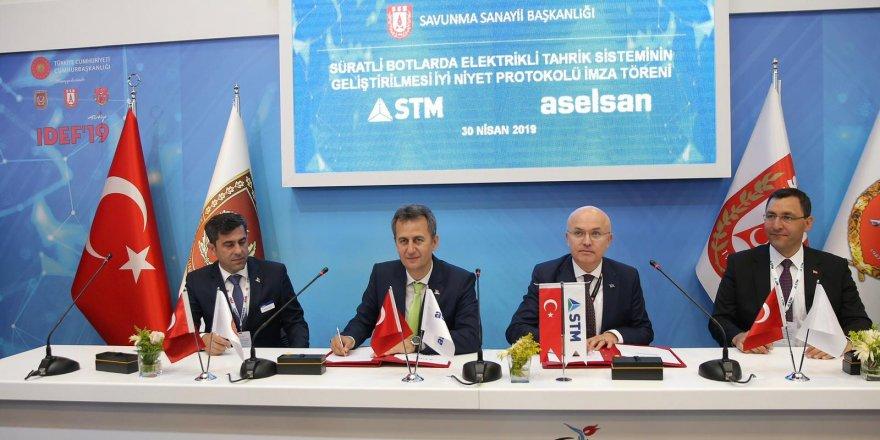 IDEF'19'da iş birliği niyet anlaşması imzalandı