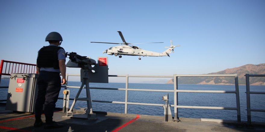 131 gemi, 57 uçak, 33 helikopterle başladı!