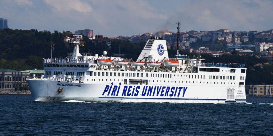 PRÜ eğitim gemisi eğitim seferinde
