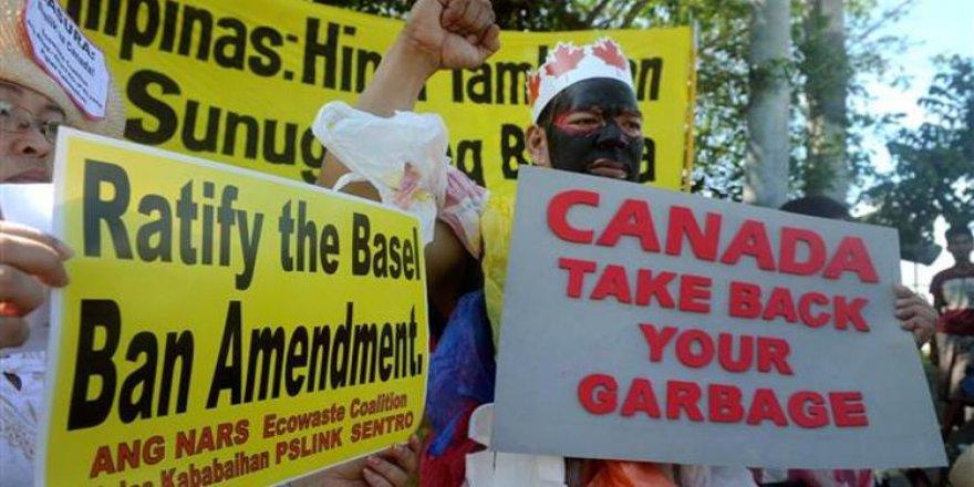 Filipinler ile Kanada arasında çöp krizi