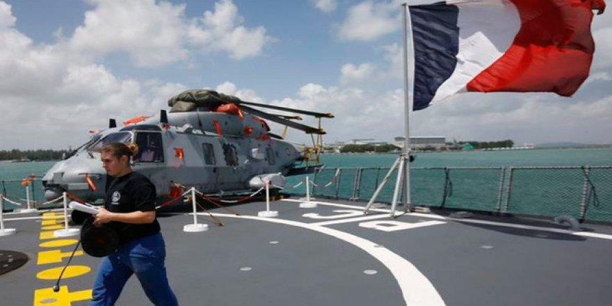 'Fransa Güney Kıbrıs'taki deniz üssünü kullanacak'