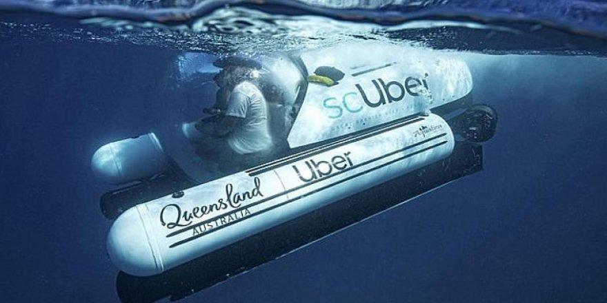 UBER'den denizaltı taksi