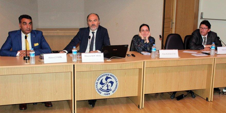 DEÜ'de 'Koster Armatörlüğü ve İşletmeciliği' konferansı