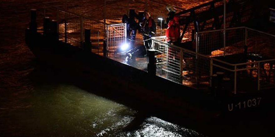 Tuna Nehri'nde gemi battı: 7 ölü