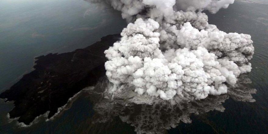 Dünyanın en geniş sualtı yanardağı keşfedildi